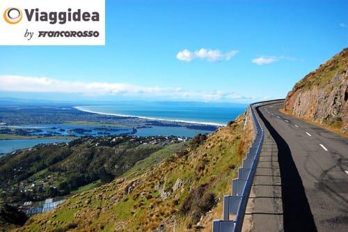 Summit road near Christchurch