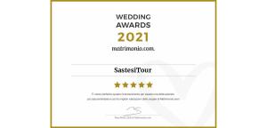 Sastesitour vince il Wedding Awards 2021 di Matrimonio.com